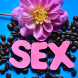 Word sex — Stock Photo #35721199