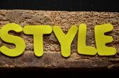 Style — Stockfoto