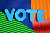 Głosowanie — Zdjęcie stockowe