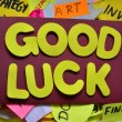 Stock Photo: GOOD LUCK