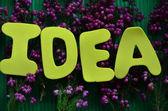 Word ideas — Stock Photo