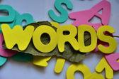 Words — Stock Photo