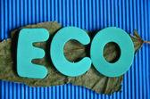 Word eco — Stock fotografie