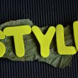 Stock Photo: Style