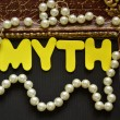 Stock Photo: Word myth