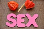 Mot sexe — Photo