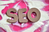 Word seo — Stock Photo