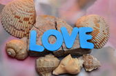 Word love — Stock Photo