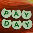 Stock Photo: Pay day