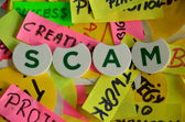 Scam — Stock Photo