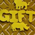 Gift — Stock Photo #39649987