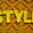 Style — Stock Photo #39650675