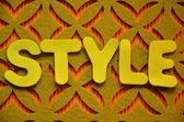 Style — Stock Photo