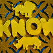 Know — Stock Photo #40015465