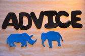 Advice — Stock Photo