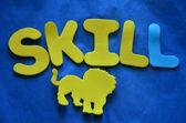 Skill — Fotografia Stock