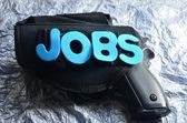 Word jobs — Stock Photo