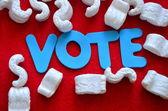 Vote — Stockfoto