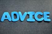 Advice — Zdjęcie stockowe