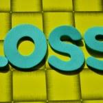 Word loss — Stock Photo #44937771