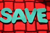 Word save — Stock Photo