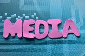 Medien — Stockfoto