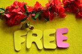 Word free — Stock Photo