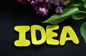 Idea di parola — Foto Stock