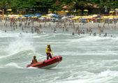 ビーチの安全性 — ストック写真