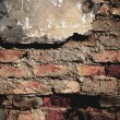 Aged street wall background — Stock Photo