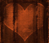 Heart behind bars — Stock Photo