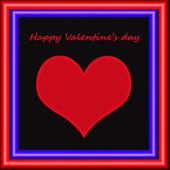 Alla hjärtans dag, bakgrund — Stockfoto