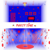 Party time 3d — Stock Photo