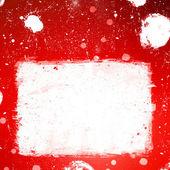 白の真っ黒なほとばしりとグランジ バナー — ストック写真