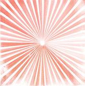 Sun burst retro red illustration — Stock Photo