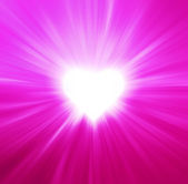 Valentines Hearts Abstract Pink Background — Stock Photo