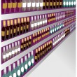 Vector de stock : Wine storage