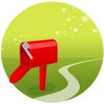Postbox — Stock Vector
