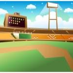 Постер, плакат: Baseball Stadium