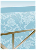 Flora Wallpaper — Stock Vector