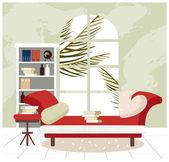 Living room — Stock Vector