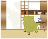 Living room — Stock vektor