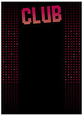 Club Background — Stock Vector