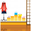 Shopping - Stock Vector