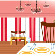Stock Vector: Restaurant