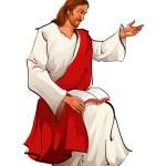 Jesus — Stock Vector