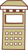 A vending machine — Stock Vector