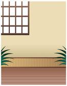 Korean-style house — Stock Vector