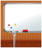 White board — Stock Vector