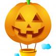 Vector pumpkin — Stock Vector